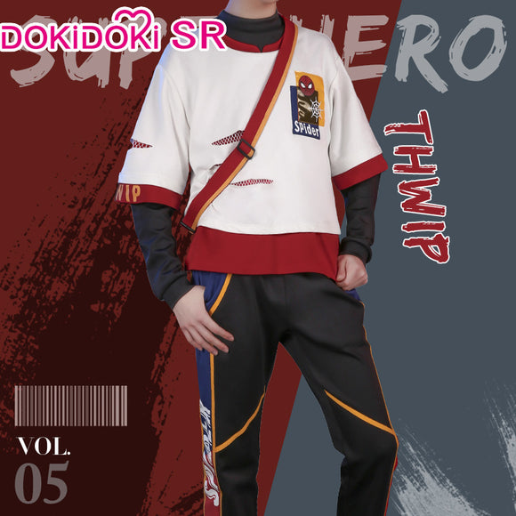 DokiDoki-SR Marvel Spider Man Cosplay Costume Doujin Men Casual Wear