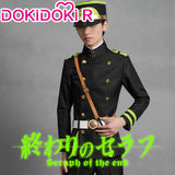 DokiDoki-R Anime Seraph of the end Cosplay Yuichiro Hyakuya Costume Men