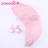 DokiDoki-R Game Fate Cosplay Accessory Tamamo no Mae Ears Tail Fate/Grand Order Fate/EXTRA
