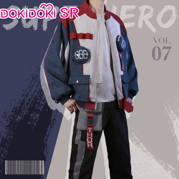DokiDoki-SR Marvel Thor Cosplay Costume Doujin Men Cusual Wear