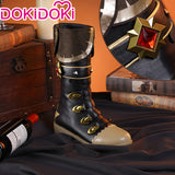 DokiDoki-SR Game Genshin Impact  Diluc Cosplay Costume/Shoes