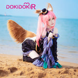 DokiDoki-R Game Fate Cosplay Tamamo no Mae Magician Costume Fate/Grand Order Fate/EXTRA