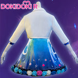 DokiDoki-R Game League of Legends Cosplay  Seraphine All Out LOL Costume Women