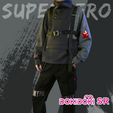 DokiDoki-SR Marvel Winter Soldier Doujin Cosplay Cosplay Men Causal Wear Bucky