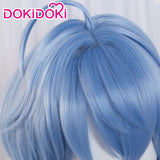 【Ready For Ship】DokiDoki Game Genshin Impact Cosplay Ganyu Gan Yu Wig Women