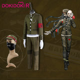 DokiDoki-R Game Danganronpa Cosplay Korekiyo Shinguji Costume Men Halloween Game Danganronpa V3: Killing Harmony Cosplay Costume