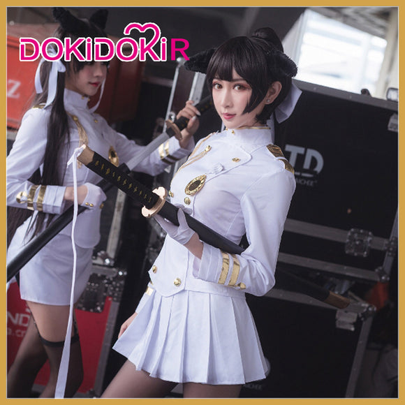 DokiDoki-R Game Azur Lane IJN Takao Cosplay Costume Women