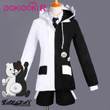 DokiDoki-R Game Danganronpa Monokuma Cosplay Costume Men Women Halloween Costume Game Danganronpa Cosplay