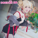 DokiDoki-SR Anime My Hero Academia Cosplay Boku No Hero Adademia Cosplay Himiko Toga Doujin Costume Women Sexy Dress Costume