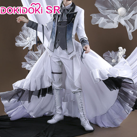 DokiDoki-SR Anime Pandora Heart Oz.Vessalius Cosplay Costume Men
