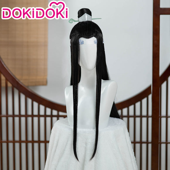 【Ready For Ship】DokiDoki Anime Mo Dao Zu Shi Cosplay Lan Wangji  Wig Dao Mo To Shi