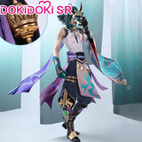DokiDoki-SR Game Genshin Impact  Cosplay Xiao Costume Men Shoes