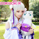 DokiDoki-R Anime Re Zero Emilia Cosplay Re: Starting life in a different world from zero