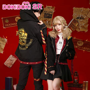 DokiDoki-SR Movie Harry Potter Doujin Cosplay Gryffindor Hermione Granger/Harry Casual Wear