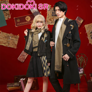 DokiDoki-SR Movie Harry Potter Doujin Cosplay Hufflepuff Casual Wear Newt Scamander