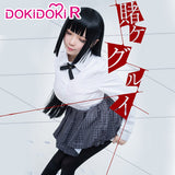 DokiDoki-R Anime Kakegurui Cosplay Yumeko Jabami Cosplay School Uniform Women Costume
