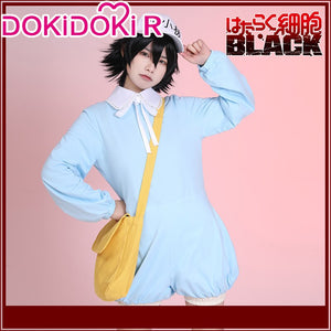 DokiDoki-R Anime Cells at Work! Black Cosplay Platelet  Costume Cute Women