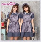 Dokidoki-R Halloween Cosplay Girl Cute Maid Dress Costume