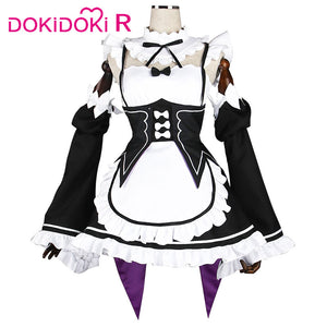 DokiDoki-R Anime Re Life in a different world from zero Rem Cosplay Costume Women