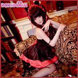 DokiDoki-R Anime Date A Live Cosplay Tokisaki Kurumi Cat Girl Cute Costume Women