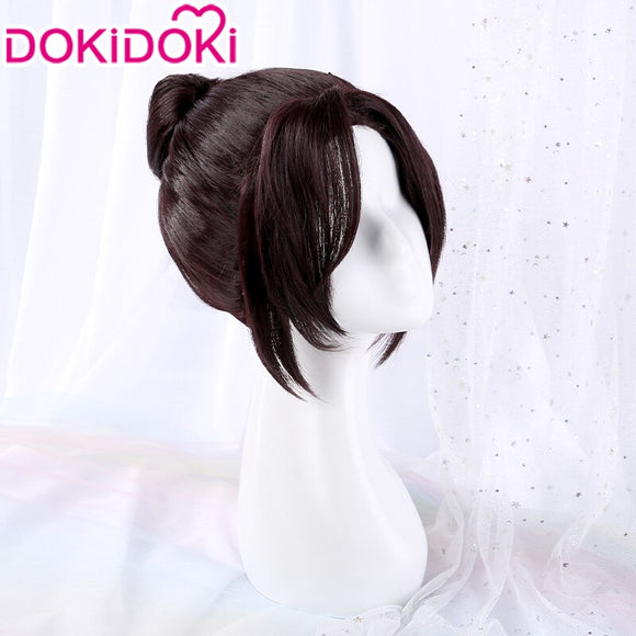DokiDoki Anime Violet Evergarden Cosplay Wig  Isabella York Hair Black