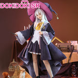 DokiDoki-SR Anime Wandering Witch: The Journey of Elaina Cosplay Costume Women