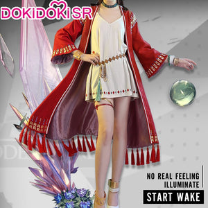DOKIDOKI-SR Game Arknights Gitano - Unknown Travel Cosplay Costume Women