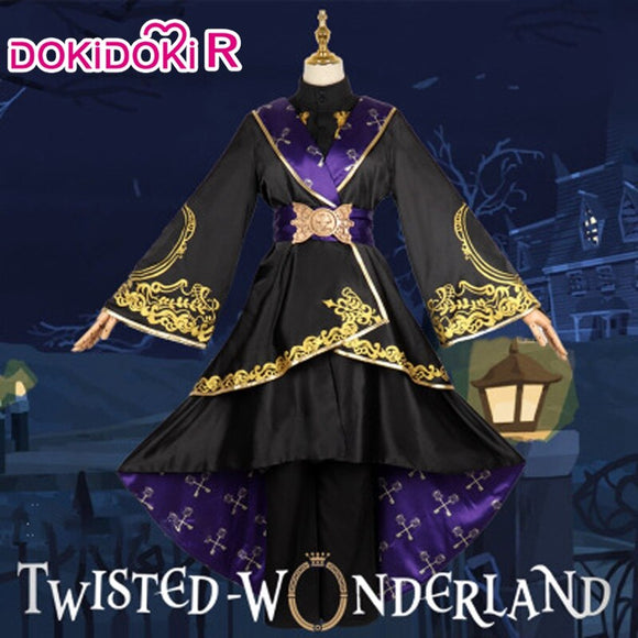 Dokidoki-R Game Twisted Wonderland Riddle Cosplay Costume