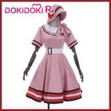 DokiDoki-R Anime Demon Slayer: Kimetsu no Yaiba Kamado Nezuko Cosplay Costume Women Nezuko Casual Wear