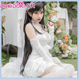 DokiDoki-SR Game Azur Lane IJN Atago Cosplay Douji Wedding Dress Women