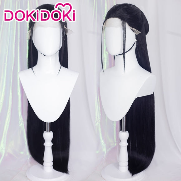 DokiDoki-SR Word of Honor Cosplay Front  Lace Wen Kexing Cosplay Wig