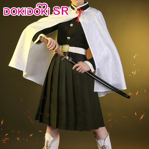 DokiDoki-SR Anime Cosplay Demon Slayer: Kimetsu no Yaiba Cosplay Tsuyuri Kanawo Costume Kimetsu no Yaiba Costume Women