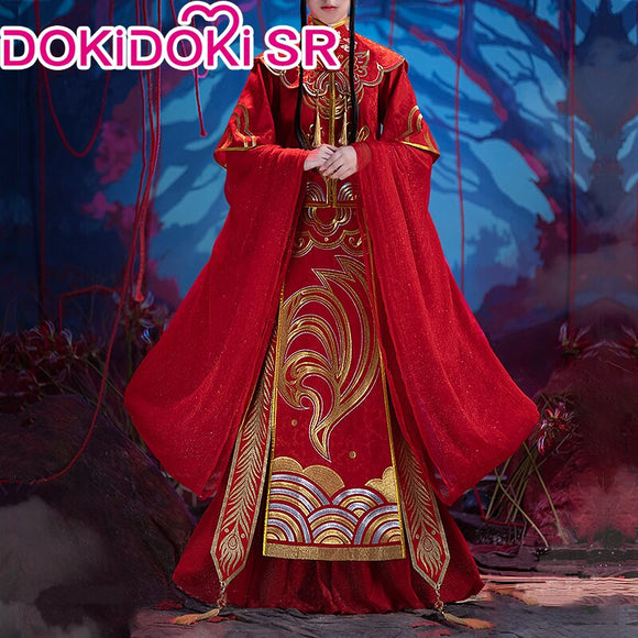 DokiDoki-SR Anime Heaven Official's Blessing Cosplay Xie Lian Bride Wedding Costume