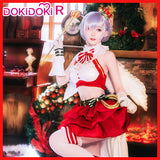 DokiDoki-R Anime Re Zero Cosplay Rem Cosplay &Wig Women Cute Christmas Costume