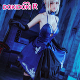 DokiDoki-R Fate/stay night Cosplay Arutoria Pendoragon Costume Dress Wome Saber Alter Cosplay