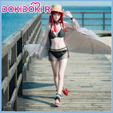 DokiDoki-R Game Arknights  Vigna Leisurely Holiday Cosplay Costume Women
