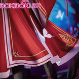 DokiDoki Anime Tian Guan Ci Fu Cosplay Hua Cheng San Lang Ver Red Costume Heaven Official's Bless