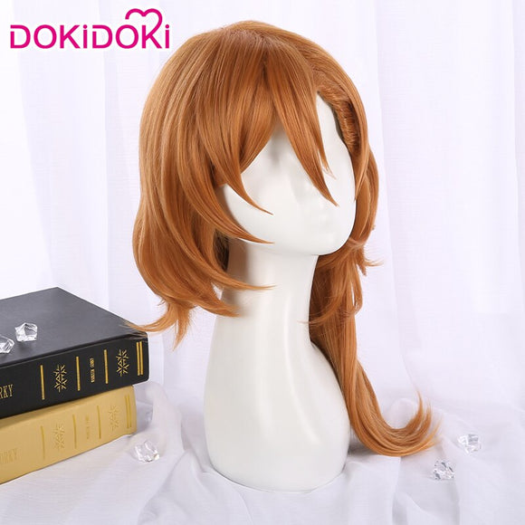 DokiDoki Anime Bungo Stray Dogs Cosplay Nakahara Chuya Wig Men Brown Hair