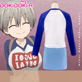 DokiDoki-R Anime Uzaki-chan Wants to Hang Out! Cosplay Uzaki Hana Costume Women
