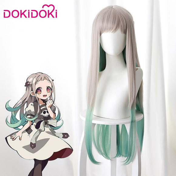 [ Ready For Ship ]Dokidoki Anime Jibaku Shounen/Toilet Bound Hanako kun Cosplay Wigs Nene Yashiro Wig
