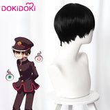 【Ready For Ship】Dokidoki Anime Jibaku Shounen /Toilet Bound Hanako Kun Cosplay Wigs Hanako Kun Wig