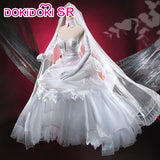 DokiDoki-SR Anime DARLING in the FRANXX Zero Two Cosplay CODE 002 Wedding Dress
