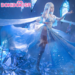 DokiDoki-SR Anime Re Zero Emilia Cosplay Women Re: Starting life in a different world from zero