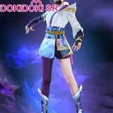 【Ready For Ship】DokiDoki-SR Game  League of Legends Spirit Blossom Riven  Cosplay Costume