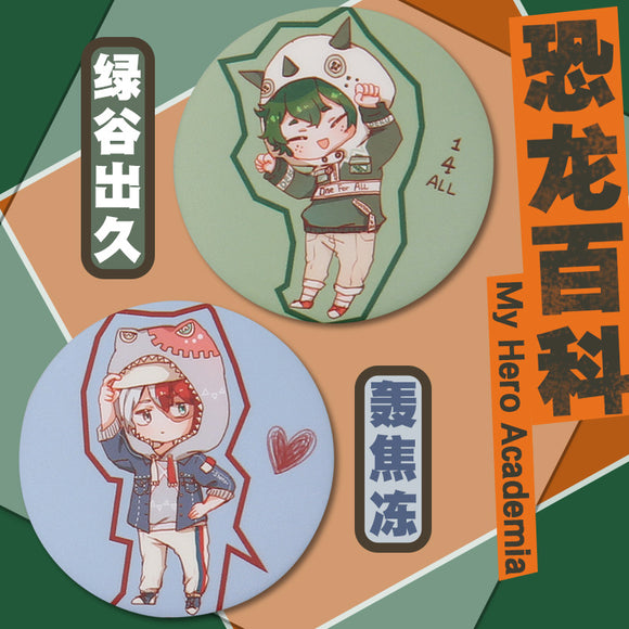DokiDoki Anime My Hero Academia/ Boku No Hero Academia Badges