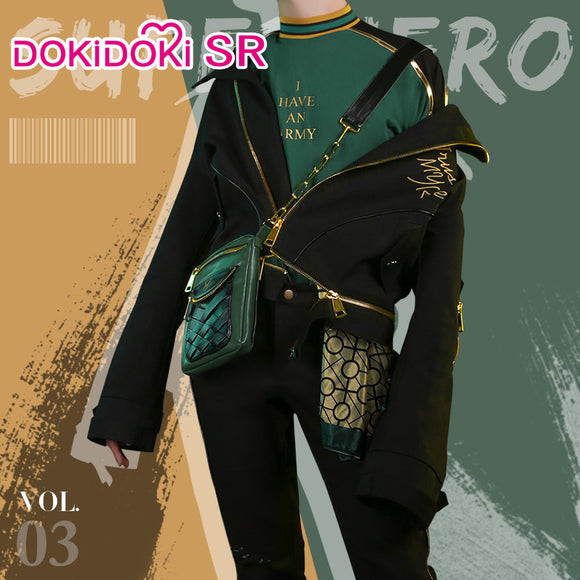 DokiDoki-SR Marvel Loki Cosplay Costume Doujin Men Cusual Wear