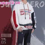 DokiDoki-SR Marvel Captain American  Cosplay Costume Doujin Men Casual Wear