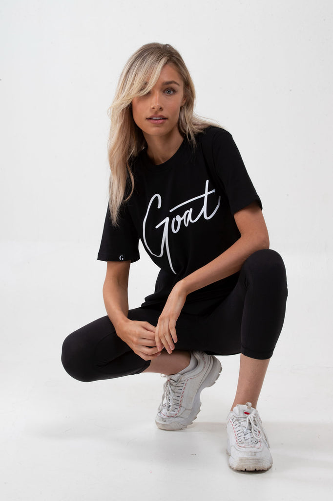 Black GOAT Signature T-Shirt