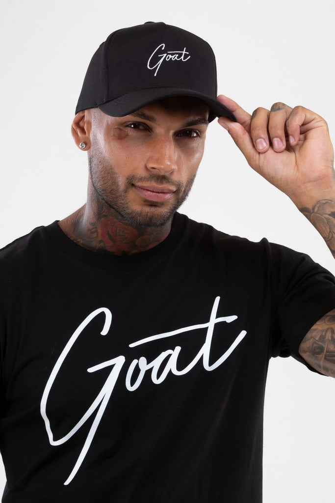 Black GOAT Signature Cap