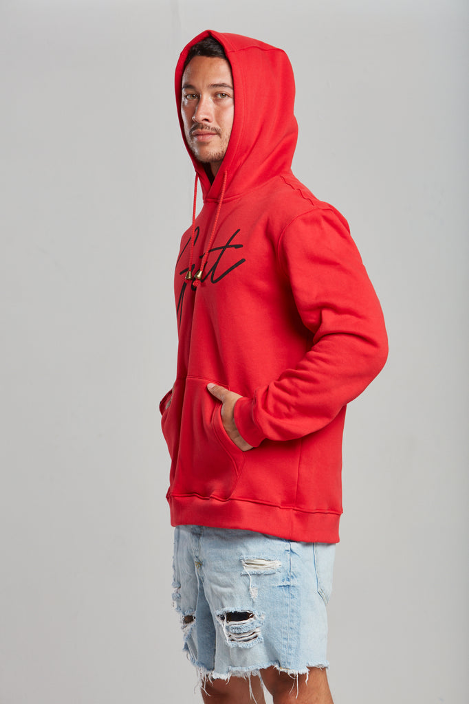 Red GOAT SIGNATURE HOODIE